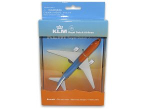 KLM Boeing 777 orange