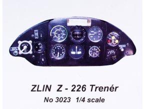 Stavebnice přístrojového panelu Zlín Z-226