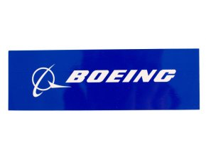 Boeing samolepka