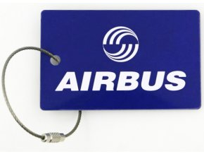 Štítek na kufr AIRBUS