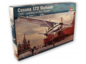 cessna 172 red square