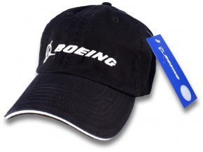 boeing hat black