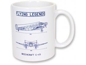 Hrnek FL Beechcraft C-45