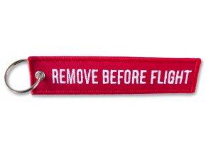 Přívěsek Remove Before Flight vyšívaný