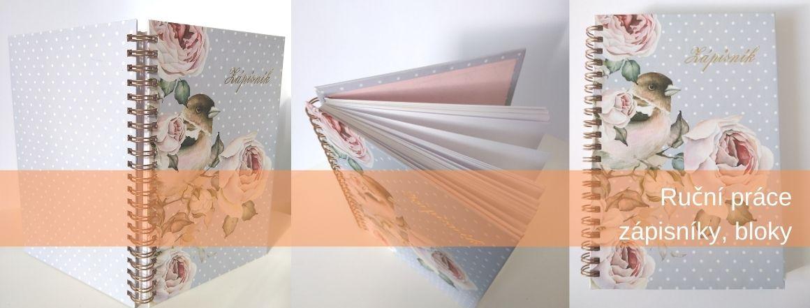 Zápisníky bloky