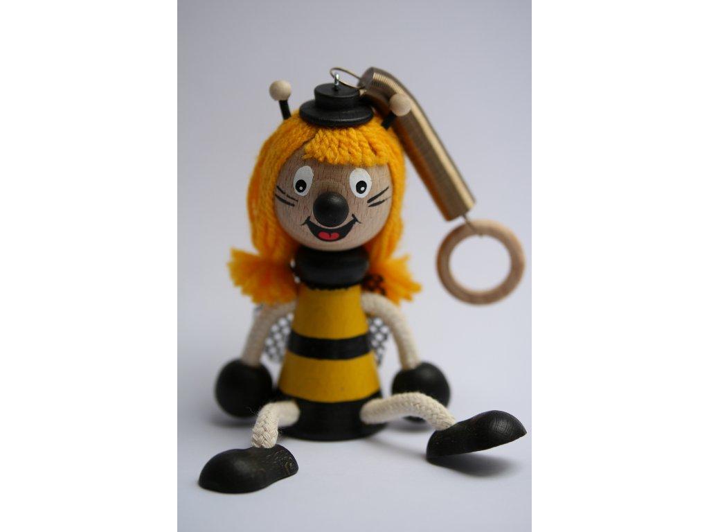 Včelka Mája dřevěná hračka