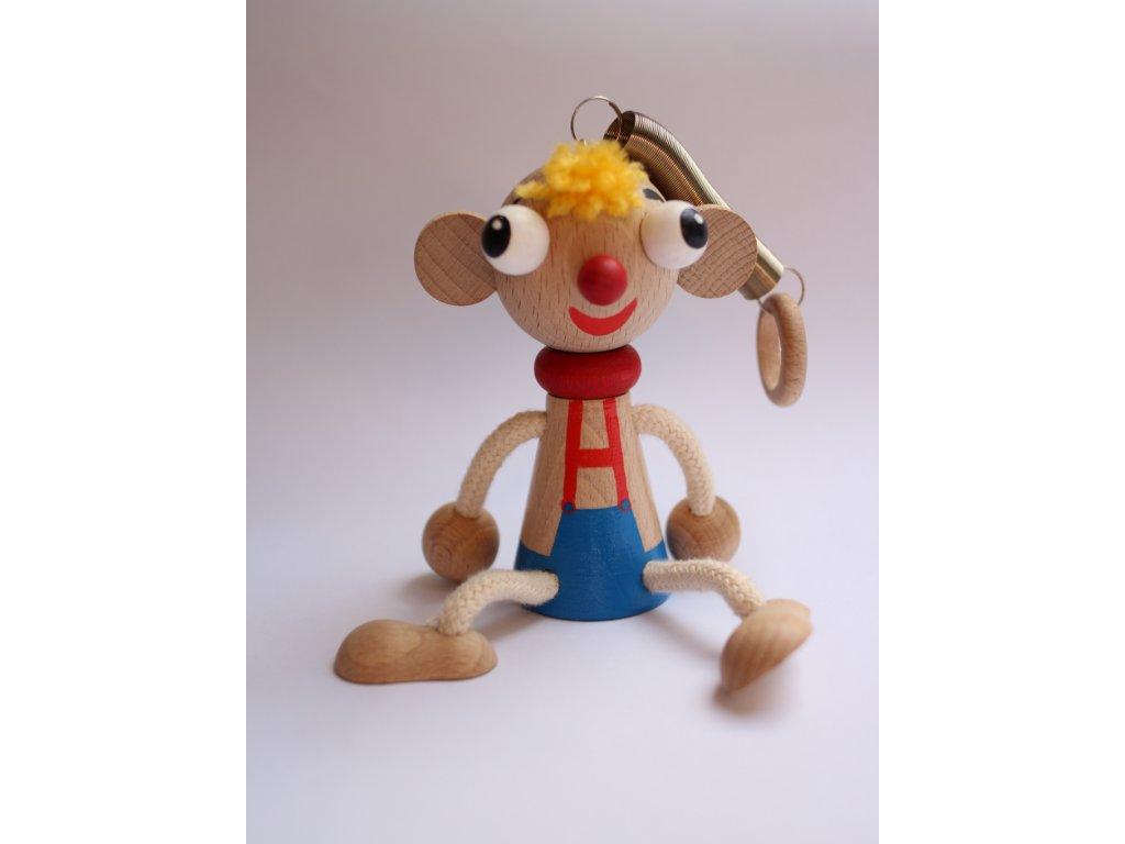 Dřevěná hračka Hurvínek 1