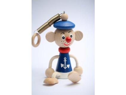 Námořník dřevěná hračka 1