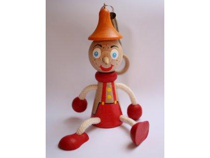 Dřevěná hračka Pinokio 1