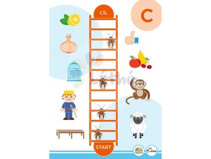 Logopedická hra nácvik písmene C