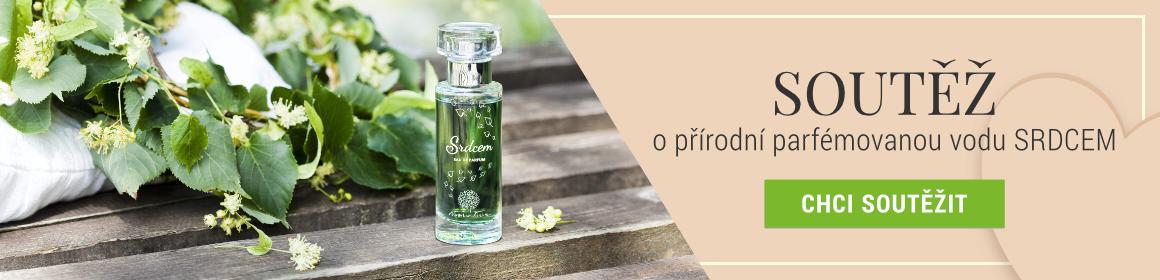 Soutěž o parfémovanou vodu SRDCEM