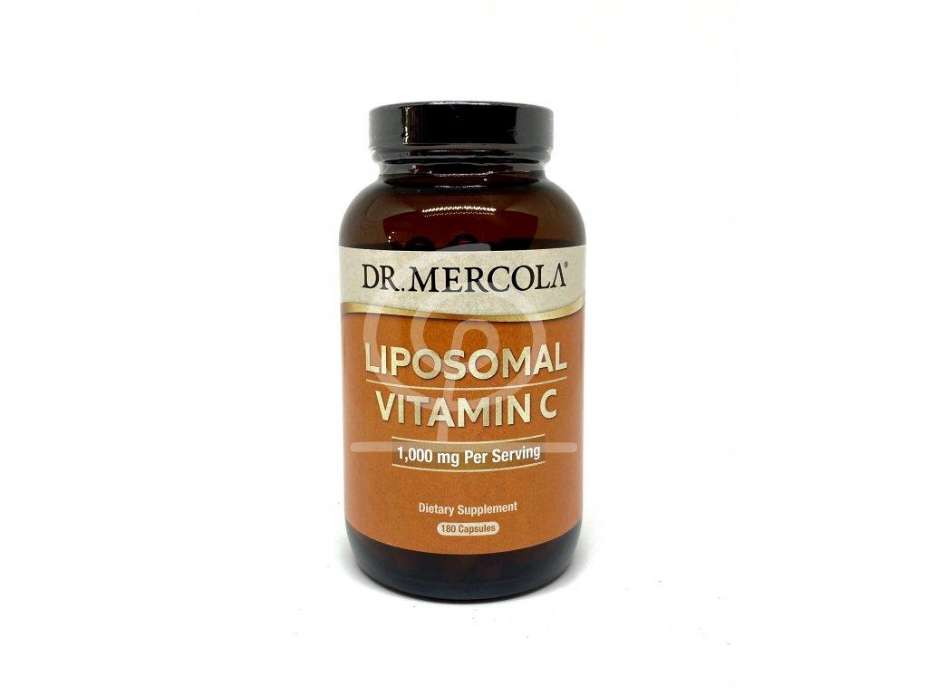 Dr. Mercola Lipoz. vitamín C 180 tbl