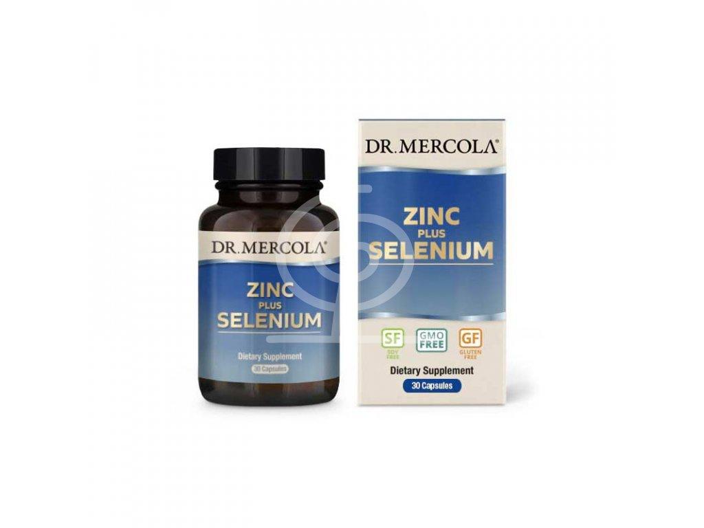 Dr. Mercola Zinek plus selen, 30 kapslí
