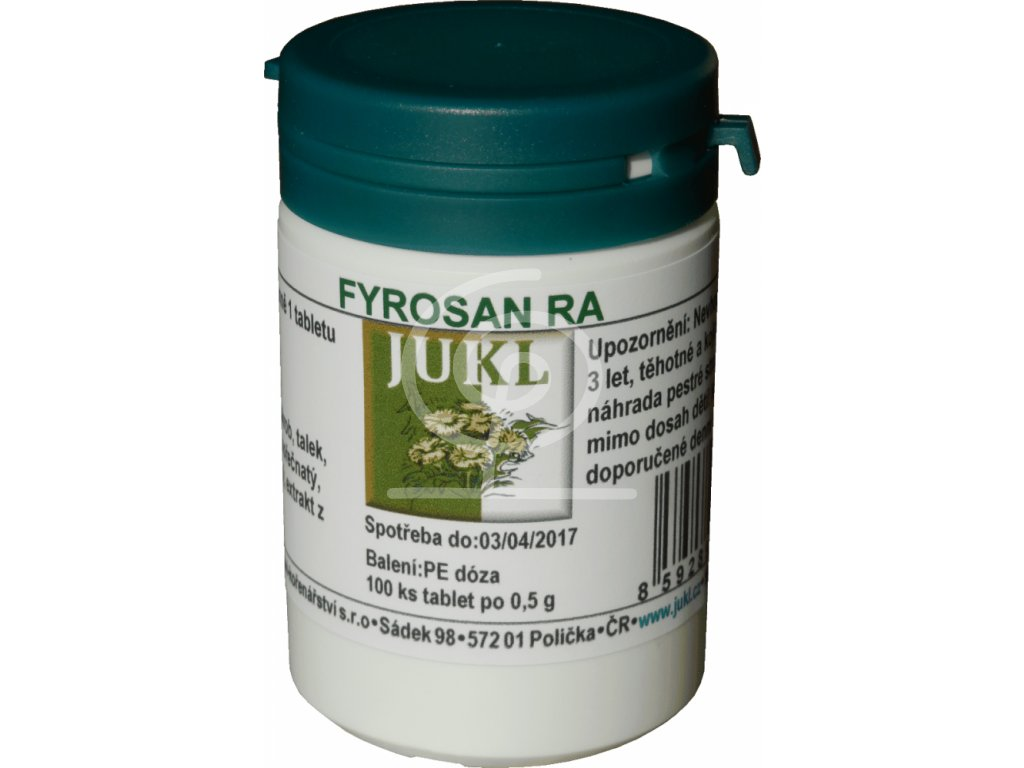 JUKL tablety Fyrosan RA