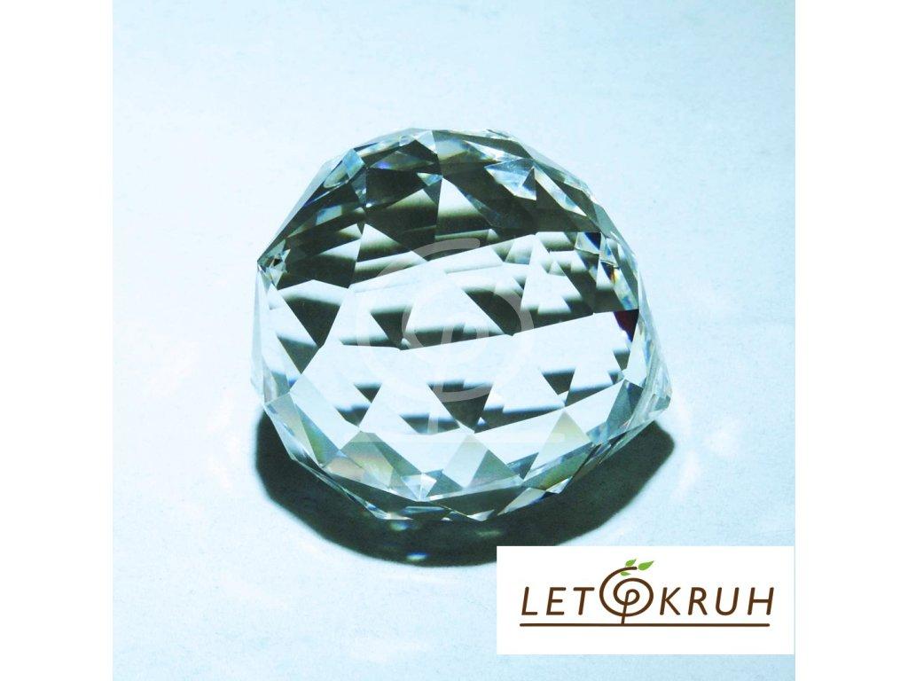 Křišťálová koule na zavěšení - 60 mm