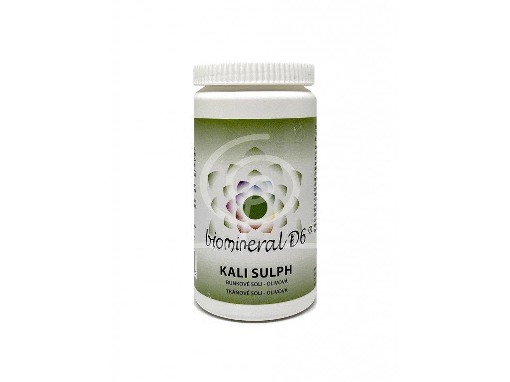 Tkáňová sůl Kali Sulph (Kalium Sulphuricum) - olivová