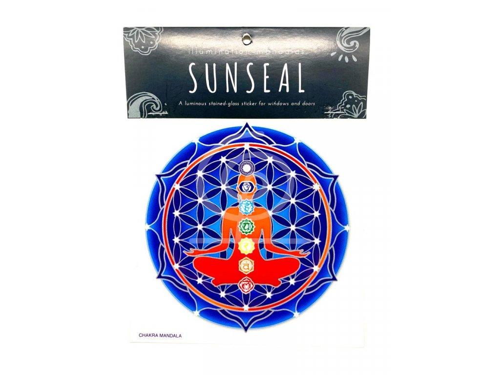 Sluneční mandala Chakra