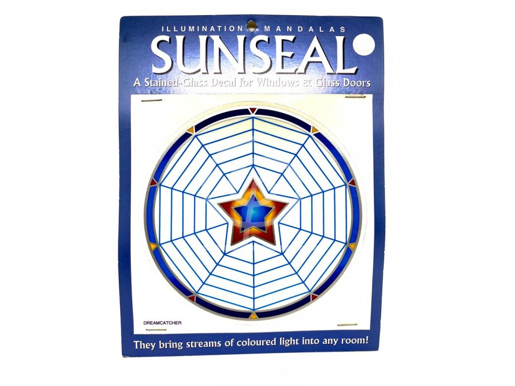 Sluneční mandala Dreamcatcher