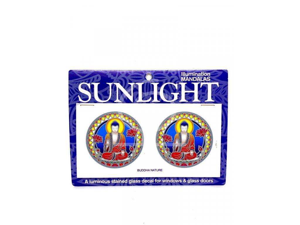 Sluneční mandala malá Buddha Nature