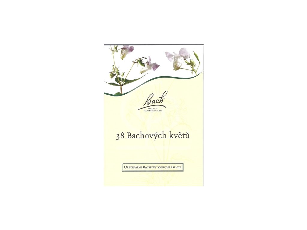 Kniha - 38 Bachových květů
