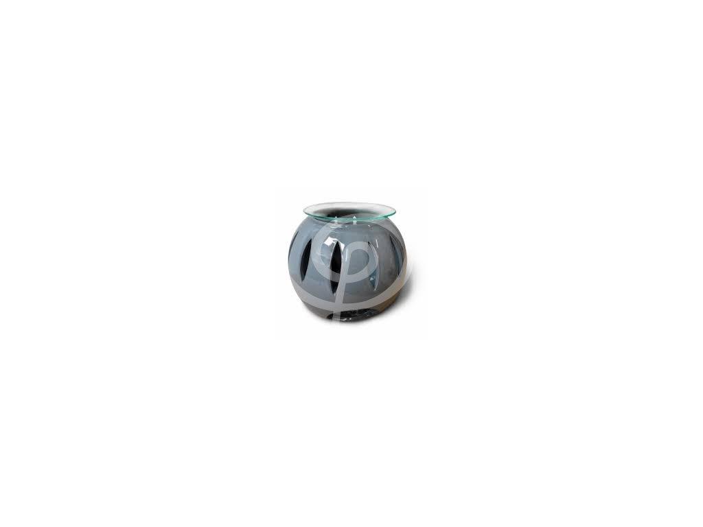 Aromalampa koule šedá