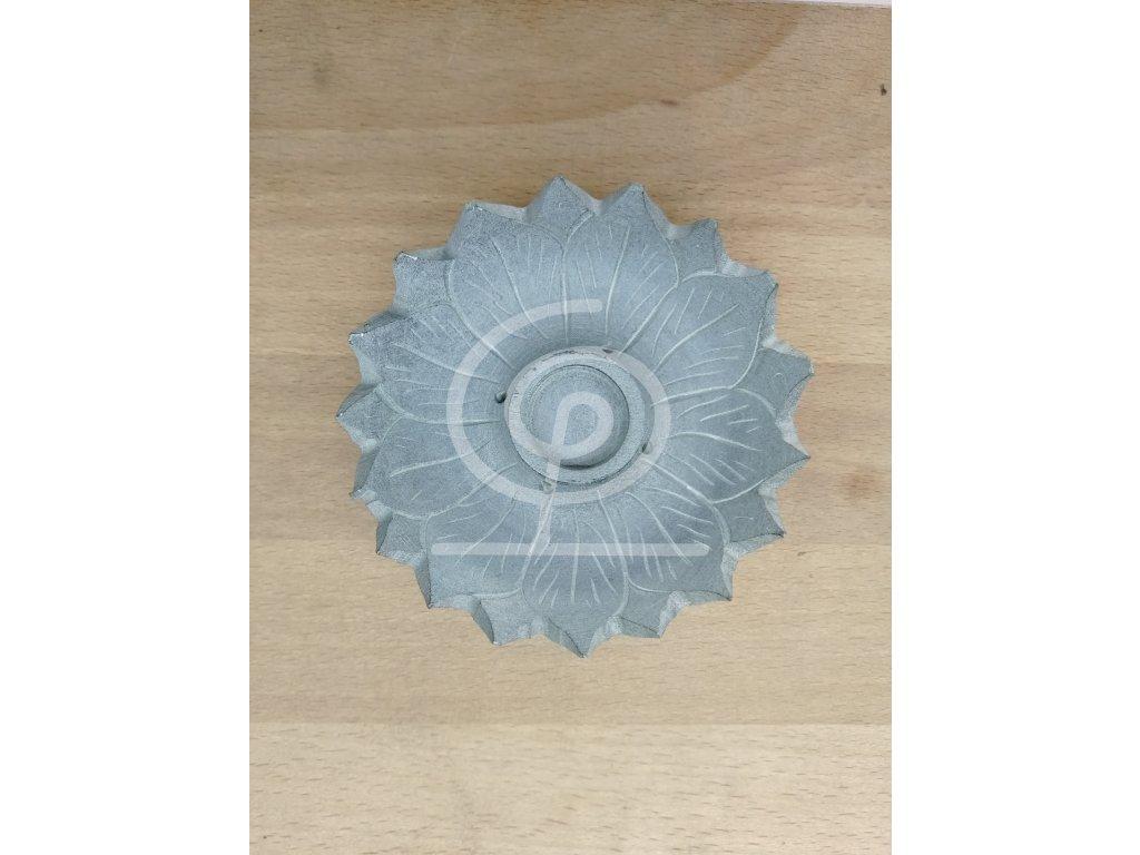 Stojánek na vonné tyčinky a františky kámen - lotos