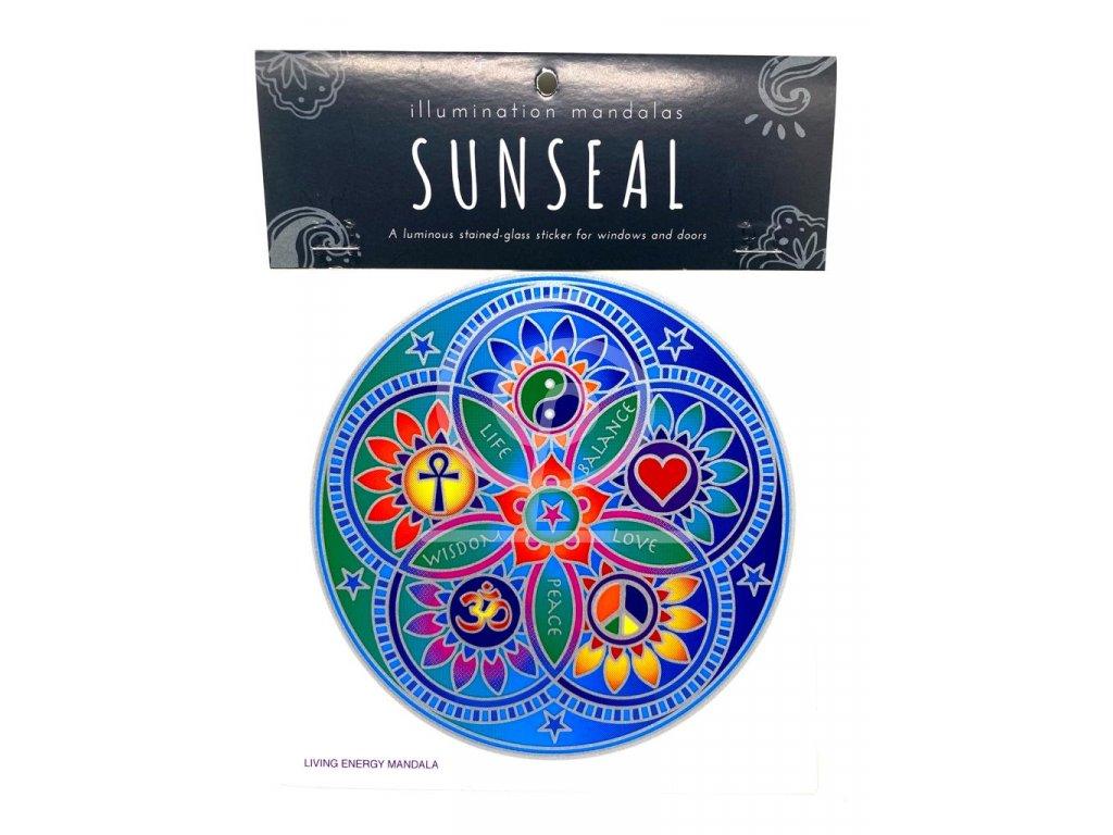 Sluneční mandala Living Energy Mandala