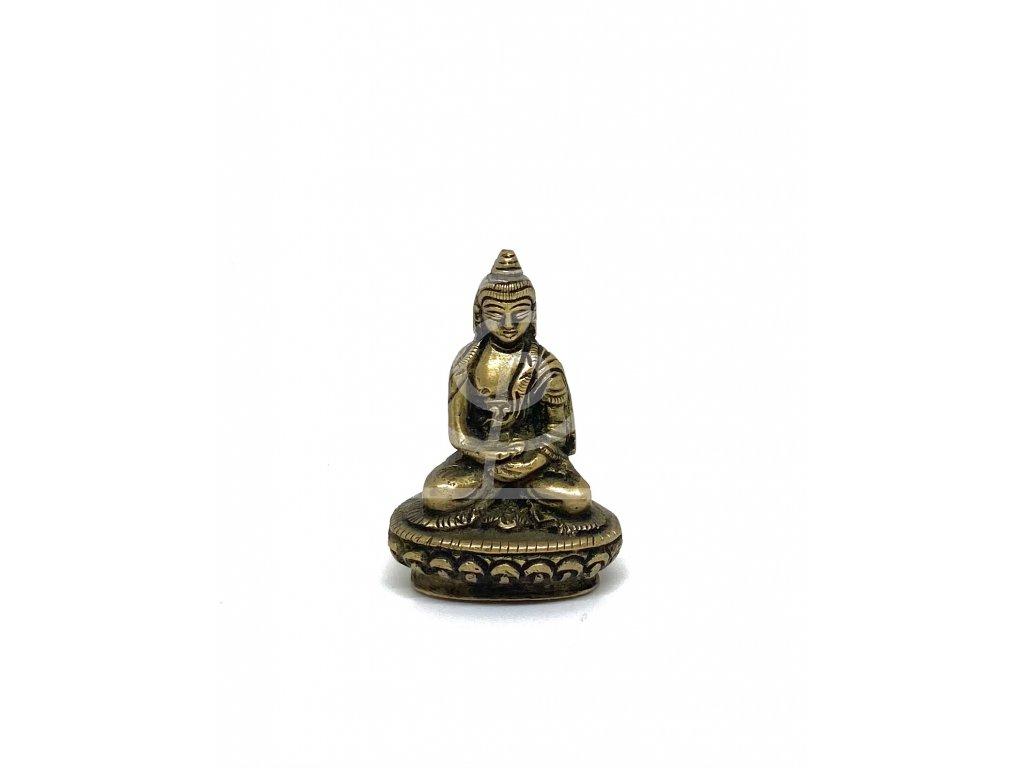 Soška Buddha, kov 5,5 cm
