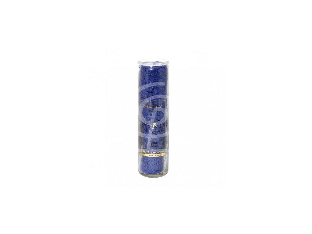Svíce čakrová velká - Královská modř