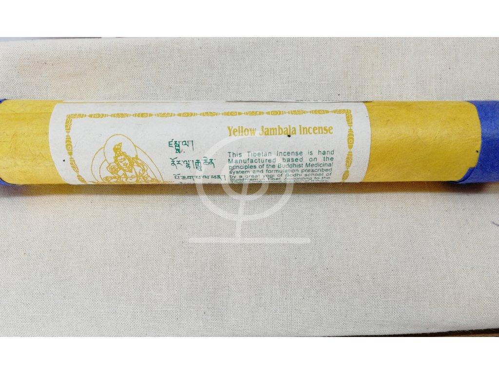 Vonné tyčinky tibetské - Yellow Jambala
