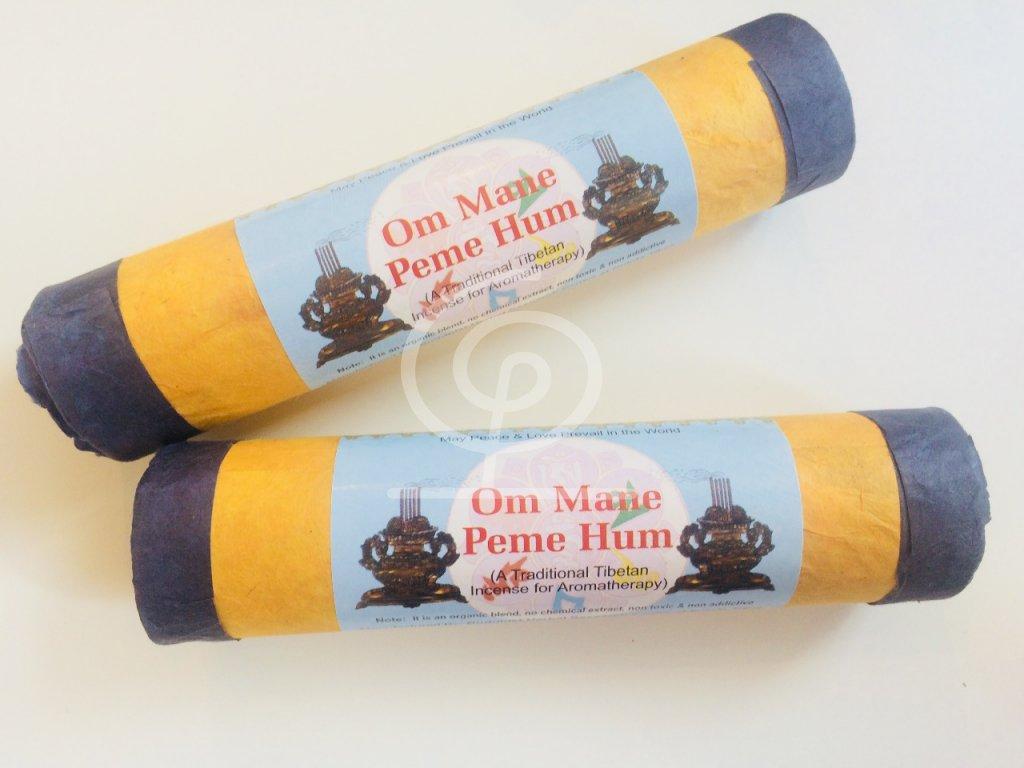 Vonné tyčinky tibetské - Buddhist Herbal Om mane peme hum