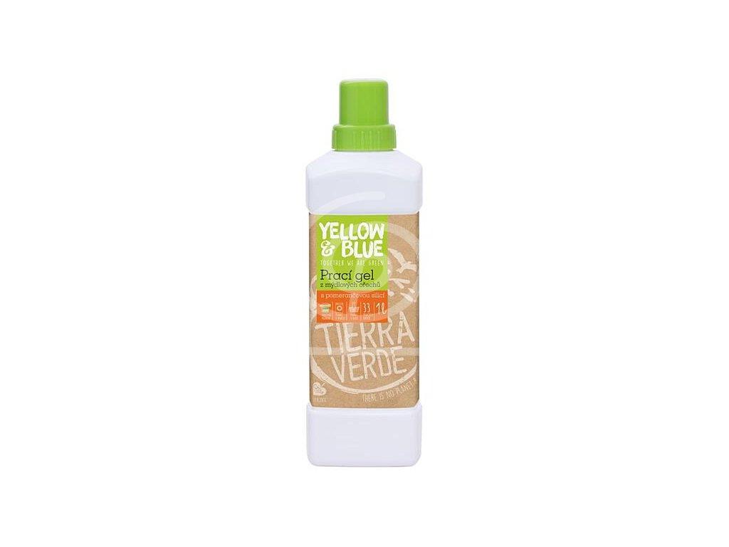 Prací gel Pomeranč (láhev 1l)