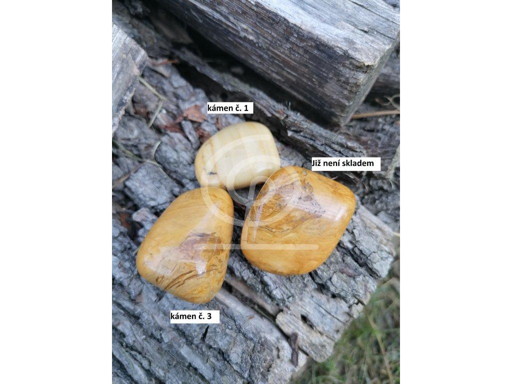 Kámen Jaspis žlutý (34 -49g)