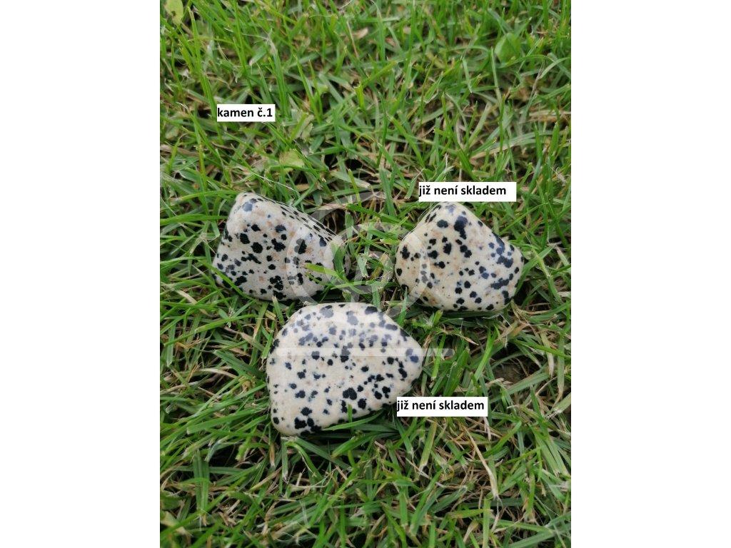 Kámen Jaspis dalmatin (17 -22g)