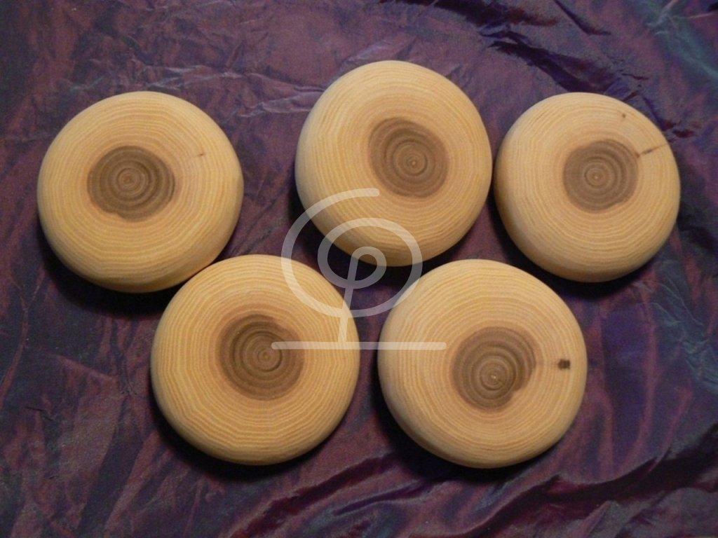 Dřevěný oblázek Jilm