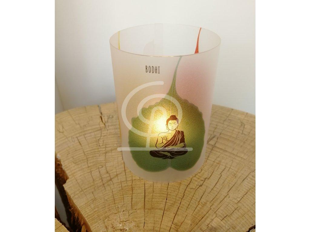 Stínítko na čajovou svíčku Inspiration Bodhi