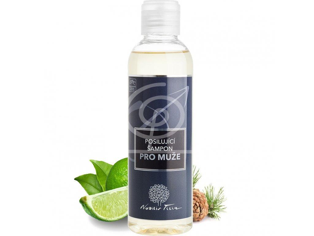 Nobilis Posilující šampon pro muže, 200ml