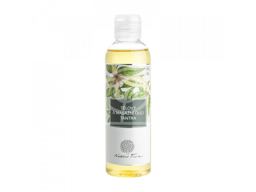 Nobilis Tělový a masážní olej TANTRA, 200ml