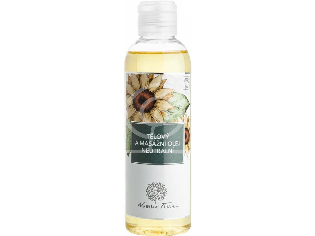 Nobilis Tělový a masážní olej NEUTRÁLNÍ, 200ml