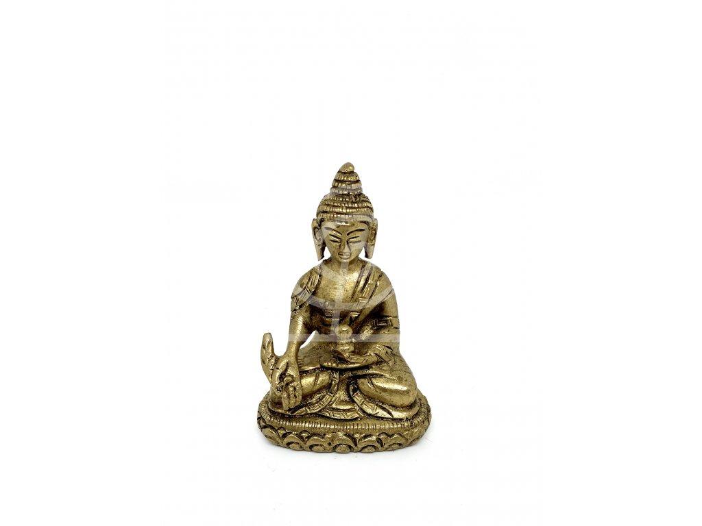 Soška Buddha, kov 7 cm
