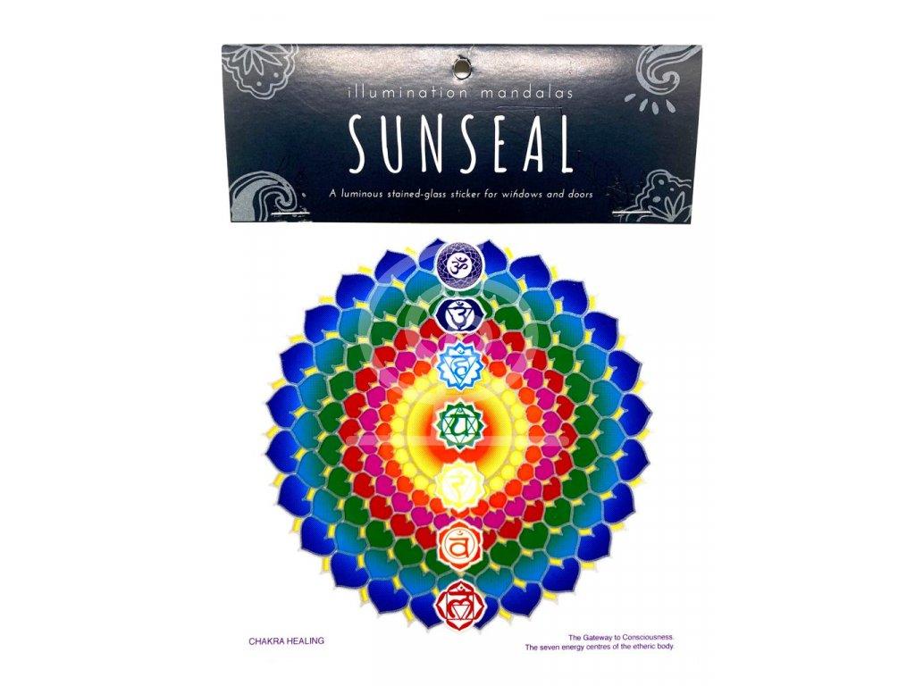 Sluneční mandala Chakra Healing