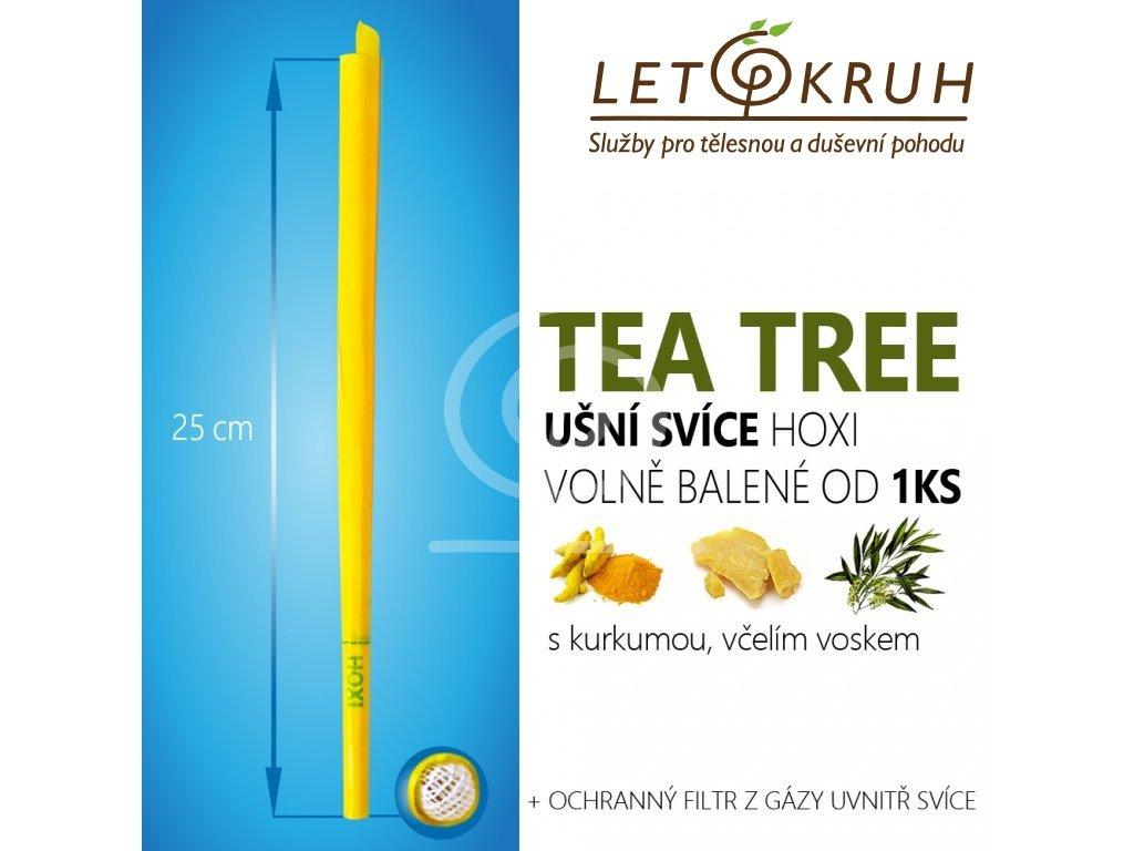 HOXI Ušní svíce s Tea Tree