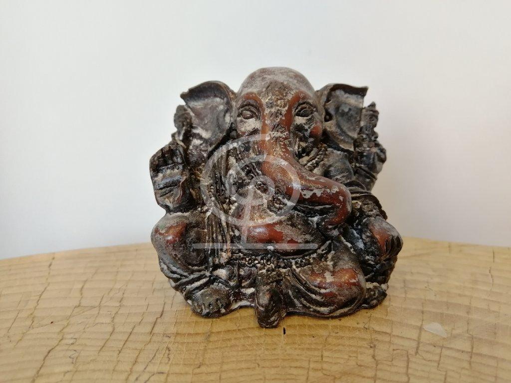 Soška resin Ganesha 6 cm