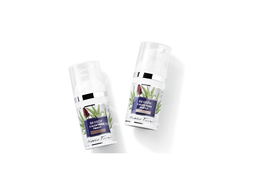 Nobilis BB krém s Aloe vera (světlý), 30ml