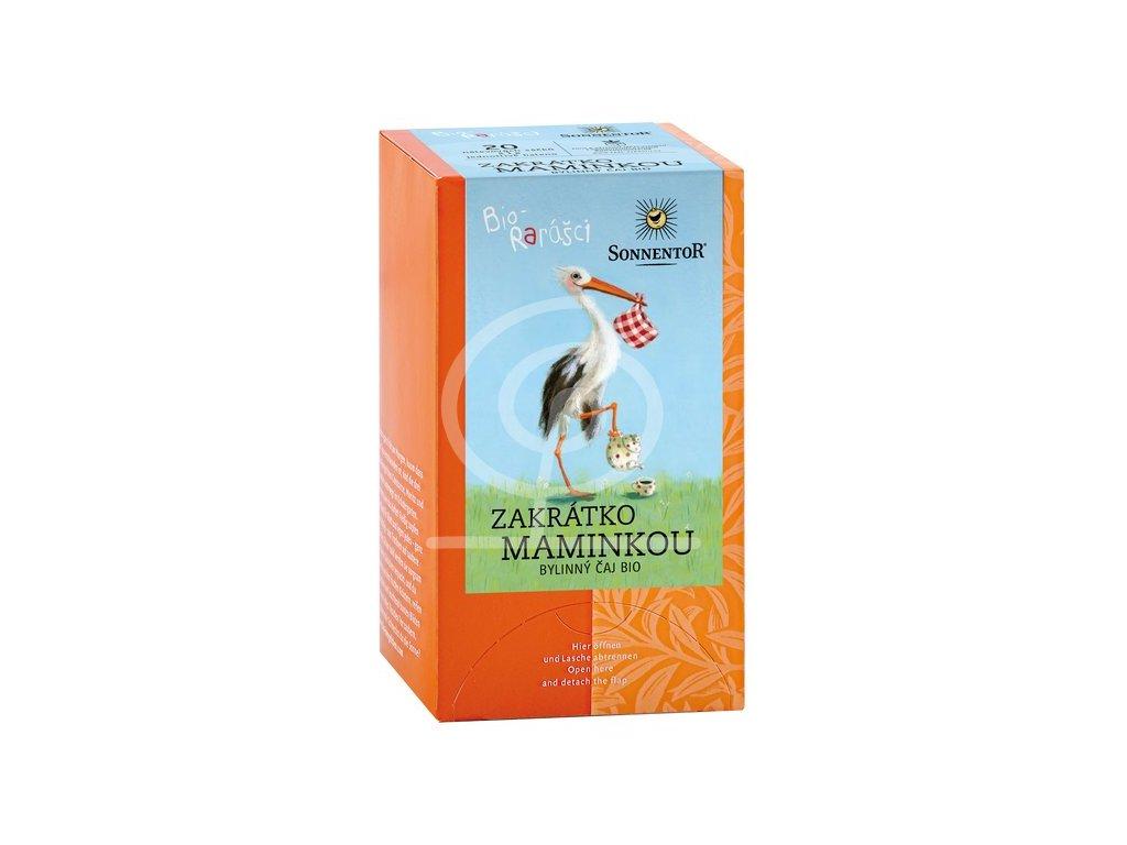 Sonnentor Dětský čaj Biorarášci - Zakrátko maminkou