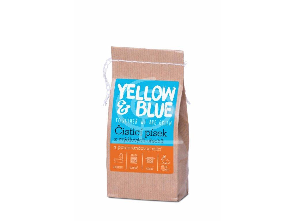Čistící písek z mýdlových ořechů (pap. sáček 250 g)