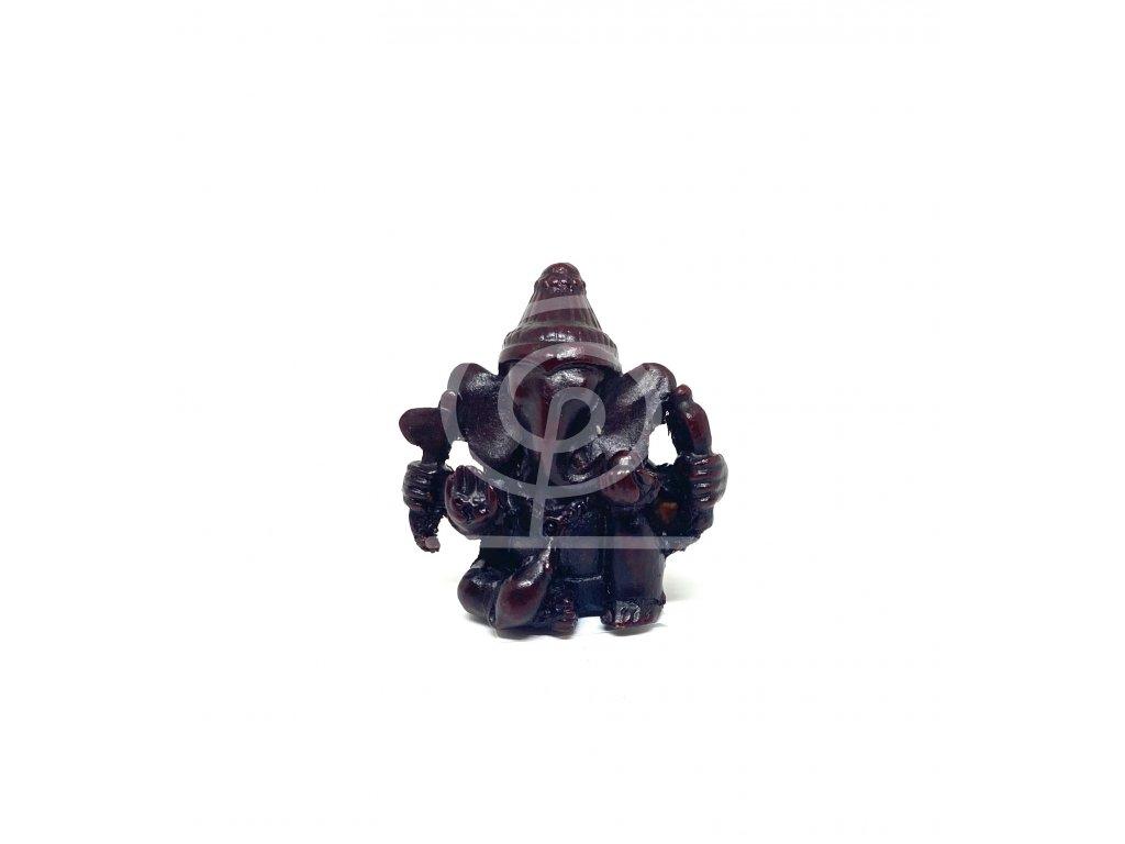 Soška Ganesha kompozit, 4,5 cm