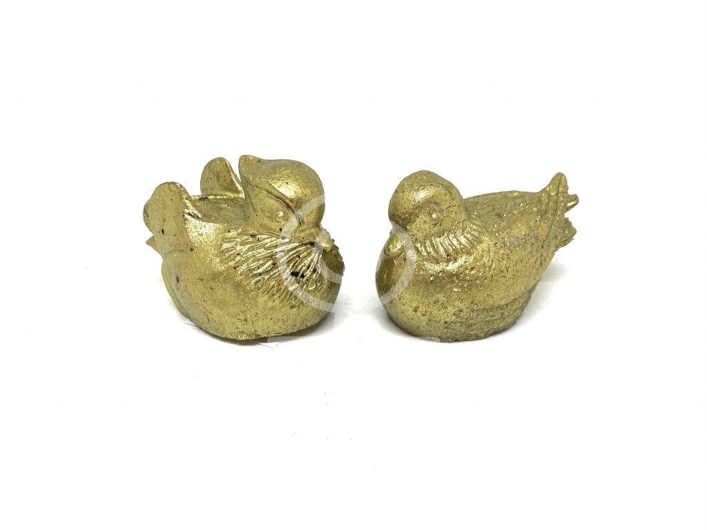 Soška Mandarínské kachničky zlaté