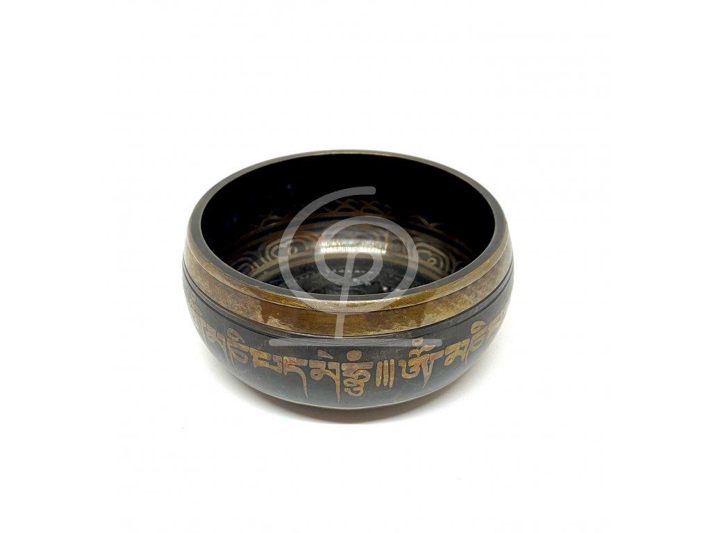Tibetská mísa s ornamenty - průměr 12 cm