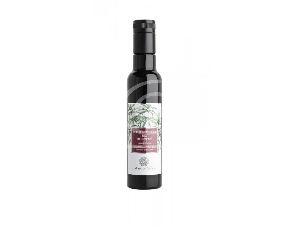 Nobilis Konopný rostlinný olej bio, 250ml